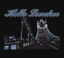Beautiful London Tower bridge Kids Tee