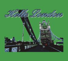 Beautiful London Tower bridge Kids Tee