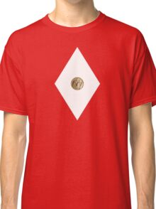 Pterodactyl Power Coin - Mighty Morphin Power Rangers - Cosplay Classic T-Shirt