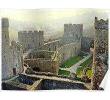 Conwy Castle, North Wales, UK Poster