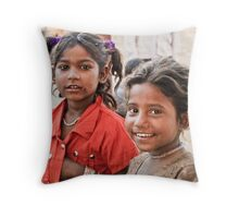 She's funny! Throw Pillow