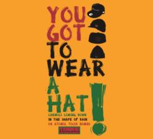 Wear a hat!! by Melanated