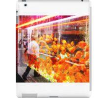 crowded fish tank nyc iPad Case/Skin