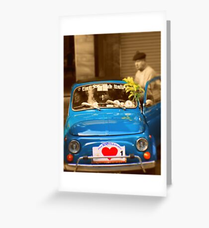 500 from oldies Greeting Card