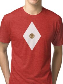 Tyrannosaurus Power Coin - Mighty Morphin Power Rangers - Cosplay Tri-blend T-Shirt
