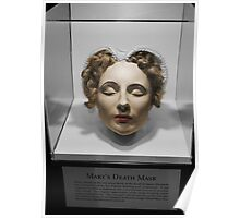 Mary Queen of Scots' Death Mask Poster