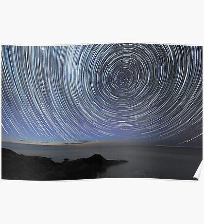 Flinders Star Trails: Ring Effect Poster