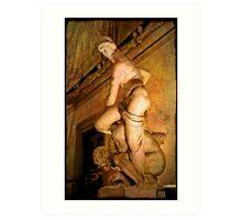 Florence . Palazzo Vecchio. 5 Art Print