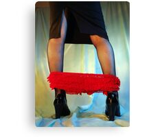 Red Knickers Canvas Print