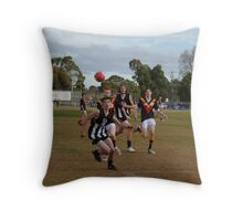 Darley in front Throw Pillow