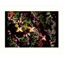 Apophysis Flower Garden Art Print