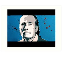 Reservoir Dogs- Mr. Blue Art Print