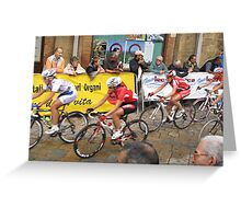 Giro Tuscana 2009 Greeting Card
