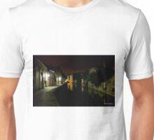 Night Canal Bruges Belgium Unisex T-Shirt
