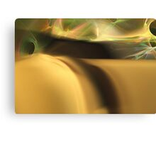 Sensual Dune Electric Sky Canvas Print