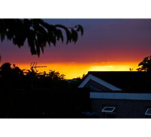 Perfect sunset Photographic Print