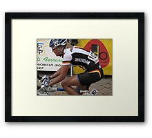 Giro Tuscana 2009 Framed Print