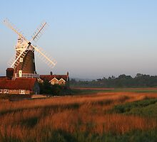 Cley Windmill at Dawn by cleywindmill