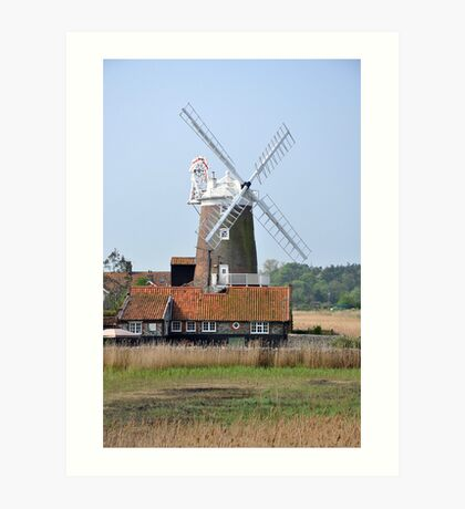 Cley Windmill from the east Art Print