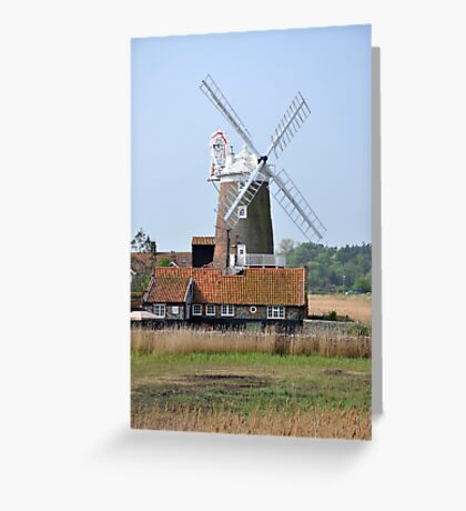 Cley Windmill from the east Greeting Card