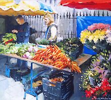 Saturday Market, Galway City by conchubar