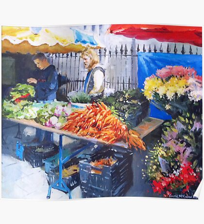 Saturday Market, Galway City Poster