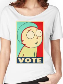 "Rick and Morty ""Vote for Morty"" Women's Relaxed Fit T-Shirt"