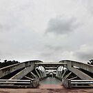 Bridge at Chandrma Uddyan , Dhaka, BANGLADESH  by HamimCHOWDHURY