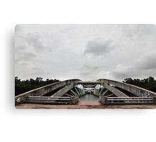 Bridge at Chandrma Uddyan , Dhaka, BANGLADESH  Canvas Print