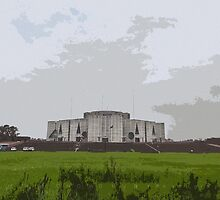 The Parliament house BANGLADESH by HamimCHOWDHURY