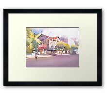 My city 1 Framed Print