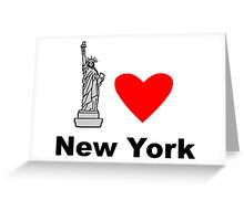 I Heart New York Greeting Card