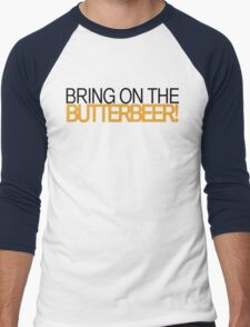 Bring on the Butterbeer! Men's Baseball ¾ T-Shirt