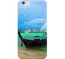 Rainbow Meets Ocean iPhone Case/Skin