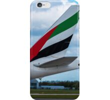 Emirates Airlines Boeing 777 tail livery iPhone Case/Skin