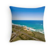 Twelve Apostles Great Ocean Road Throw Pillow