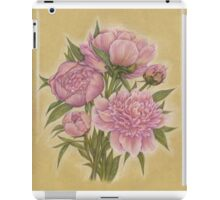 Bouquet of peony flowers iPad Case/Skin