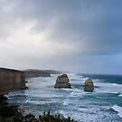 Twelve Apostles Great Ocean Road by Waqar