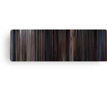 Moviebarcode: Back to the Future Part II (1989) Canvas Print