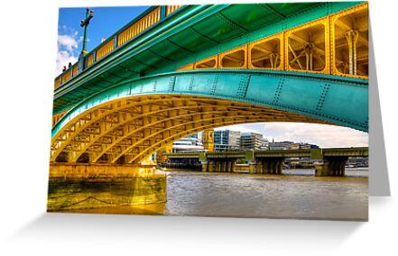 Under a Bridge by Svetlana Sewell