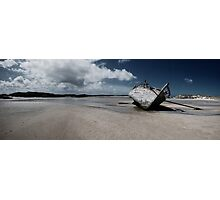 Boat on Donegal Shore, Ireland Photographic Print