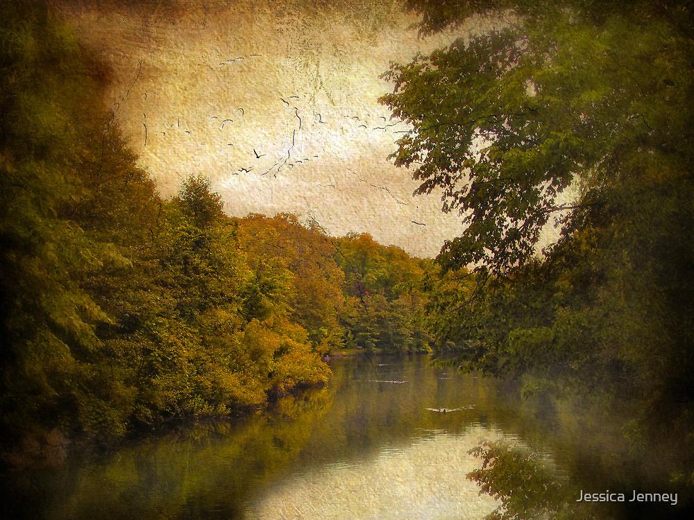 Autumn Canvas by Jessica Jenney