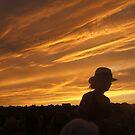 Fourth of July Sky by Bernadette Claffey