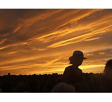 Fourth of July Sky Photographic Print