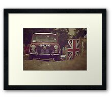 Mini Cooper S (1963) Framed Print