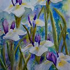 Irises by Denise Hammond-Webb