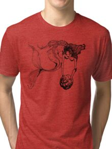 mermaid Tri-blend T-Shirt