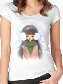 Winter's Kiss Women's Fitted Scoop T-Shirt