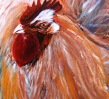 Rocking Rooster by Denise Hammond-Webb