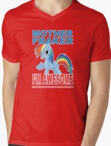 Fraking Awesomeness, etc Mens V-Neck T-Shirt